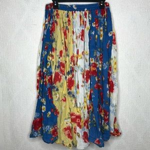 More BOOM Floral Maxi Skirt